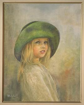 Unknown [Girl with green hat]