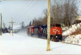 CN freight train #510