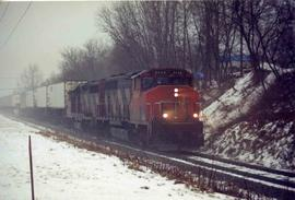 CN freight train #146