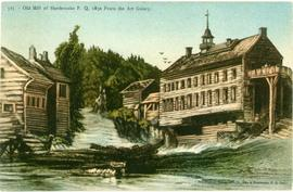 Old Mill of Sherbrooke, P.Q. 1830 from the Art Gallery