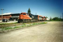CN freight train #394
