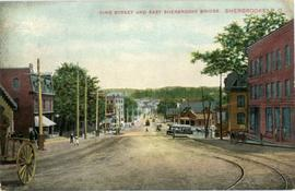 King Street and East Sherbrooke Bridge, Sherbrooke, P.Q.