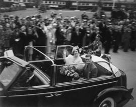 King George VI and Queen Elizabeth in Sherbrooke