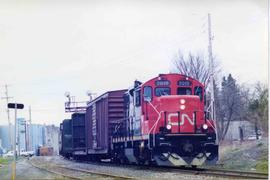CN freight train #506